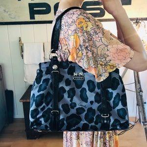 NWOT ♥️ Coach ♥️ Leopard Shoulder Bag